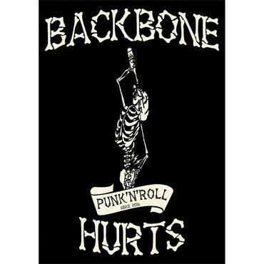 Hoodie Jacket - Backbone Hurts - Bandlogo – Image 2