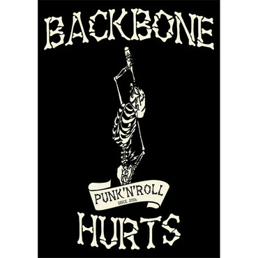 Kapuzenjacke - Backbone Hurts - Bandlogo – Bild 2