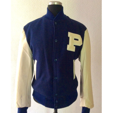 Girlie - Baseball Jacket - blue/ white – Image 1