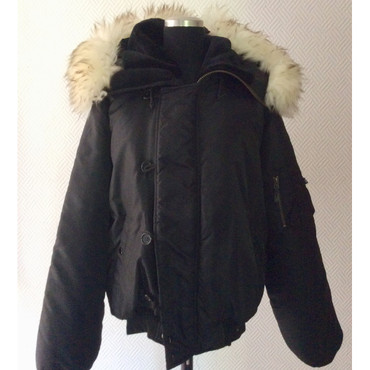 Girlie - Bomberjacket - fur - black – Image 1