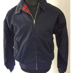 Harrington Jacke - dunkelblau 001