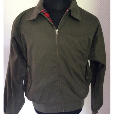 Harrington Jacke - olivegrau