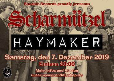 Concert Ticket - Haymaker + Scharmützel - 07.12.2019