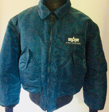 Flight Jacket - Alpha Industrie - turquoise