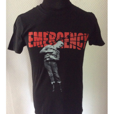 T-Shirt - Emergency - schwarz
