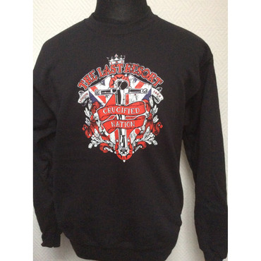 Sweatshirt - The Last Resort - Crucified Nation - black