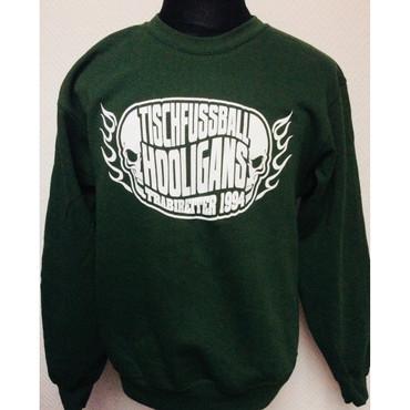 Pullover - Trabireiter - Tischfussball Hooligans - dunkelgrün