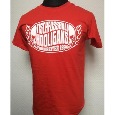 T-Shirt - Trabireiter - Tischfussball Hooligans - red