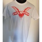 T-Shirt - Cock Sparrer - Flügel - weiß 001