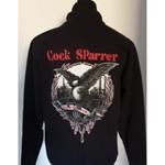 Sweatjacke - Cock Sparrer - Contender - schwarz 001