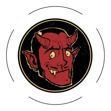 Button - Devil