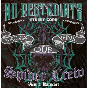 Split - Spider Crew/ No Restraints - Through our veins - Single - lila