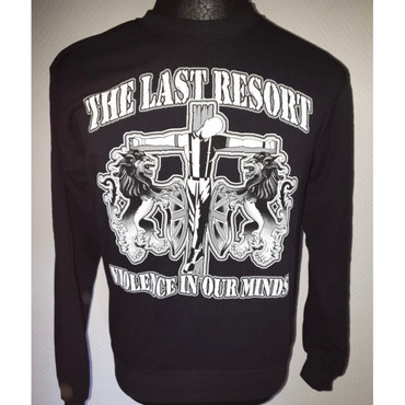 Sweatshirt - The Last Resort - Violence in our minds - black – Image 1
