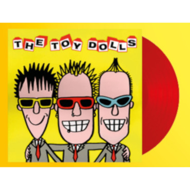 Toy Dolls - The album after the last one - LP - red – Image 1