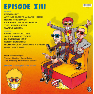 The Toy Dolls - Episode XIII - LP - rot + T-Shirt – Bild 4