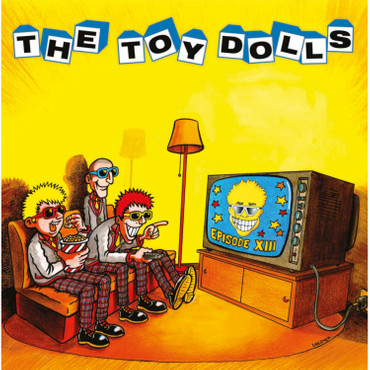 The Toy Dolls - Episode XIII - LP - rot + T-Shirt – Bild 2