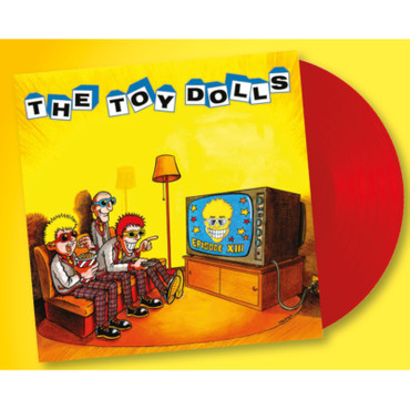 The Toy Dolls - Episode XIII - LP - rot + T-Shirt + CD – Bild 3