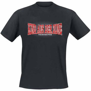 T-Shirt - Trabireiter - Kind aus der Zone - black - big size