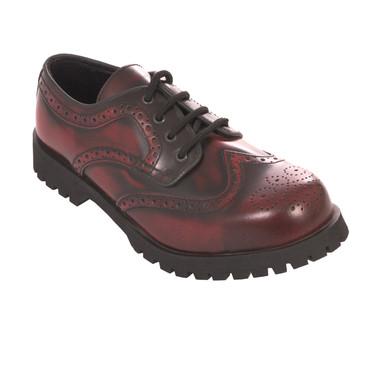 Halbschuh - Boots & Braces - Budapester - bordo