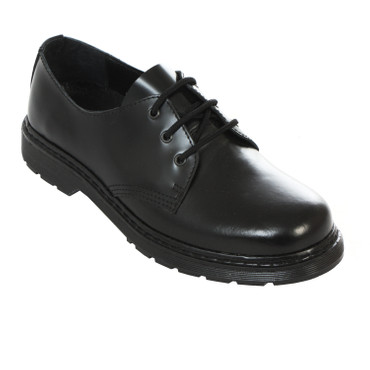 Halbschuh - Boots & Braces - ohne Stahl - black