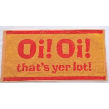 Bartuch - Oi!Oi! that's yer lot - gelb/orange