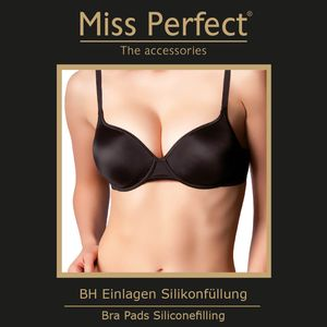 Miss Perfect Accessoires BH Einlagen Silikon Push-up – Bild 3