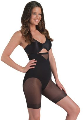 Miraclesuit Sheer Hohe Miederhose mit Bein