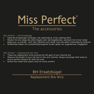 Miss Perfect Accessoires BH Ersatzbügel, 2 Paar – Bild 3
