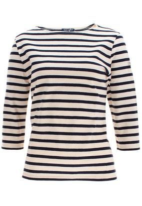 Saint James Damen Shirt 3/4 Arm Maritim Huitriere III – Bild 3
