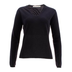 William Lockie Damen Cashmere Pullover Charlotte V-Neck – Bild 5
