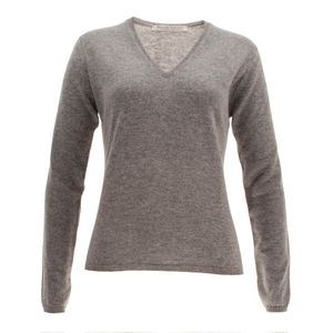 William Lockie Damen Cashmere Pullover Charlotte V-Neck – Bild 7