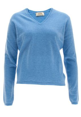 William Lockie Damen Cashmere Pullover Charlotte V-Neck – Bild 1