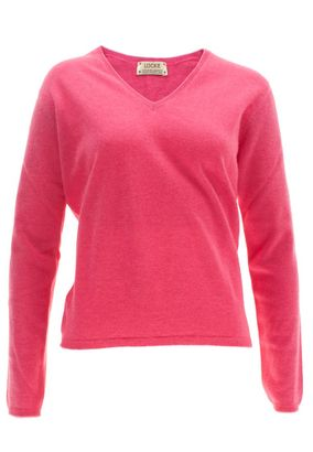 William Lockie Damen Cashmere Pullover Charlotte V-Neck – Bild 3