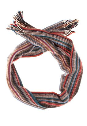 William Lockie Unisex Schal Scarf striped Lambswool – Bild 1