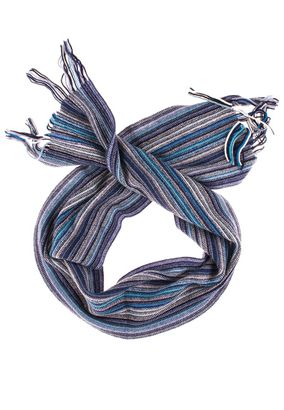 William Lockie Scarf striped Lambswool – Bild 1