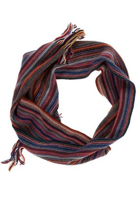 William Lockie Unisex Schal Scarf striped Lambswool – Bild 4