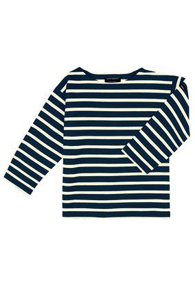 Saint James Kinder Langarmshirt Meridien - Streifenshirt - Bretagne-Shirts