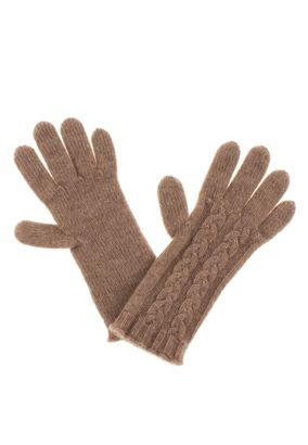 William Lockie Handschuhe Zopf Cashmere – Bild 1