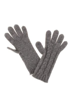 William Lockie Handschuhe Zopf Cashmere – Bild 5