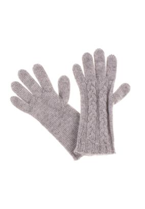 William Lockie Handschuhe Zopf Cashmere – Bild 3