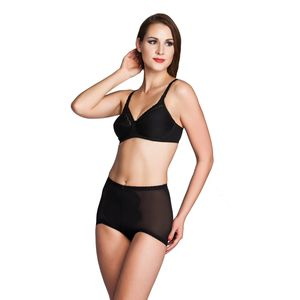 Miss Perfect Dessous Body Trim Feintüll Miederhose – Bild 3