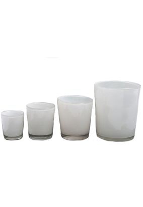 Dutz Collection Conic Vase Farbe White – Bild 1
