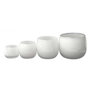 Dutz Collection Vase Pot Farbe White