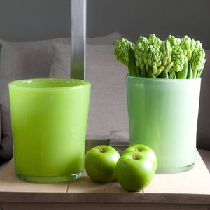 Dutz Collection Conic Vase Farbe Lime Green – Bild 1
