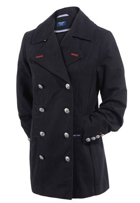 Sanit James Damen Mantel Cabanjacke Parka Trench Coat Ste Anais