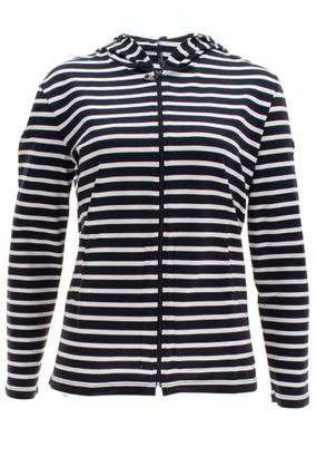 Saint James Damen Kapuzenjacke Strickjacke Plougastel II – Bild 1