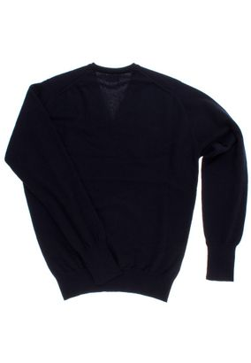 William Lockie Herren Cashmere Pullover Oxton Vee Neck – Bild 4