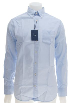 Gant Button Down Hemd Unifarben – Bild 1