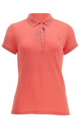 Gant Damen Poloshirt Contrast Collar Pique – Bild 5