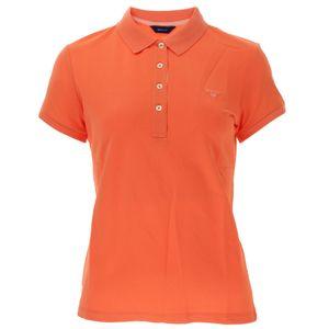 Gant Damen Poloshirt Contrast Collar Pique – Bild 3
